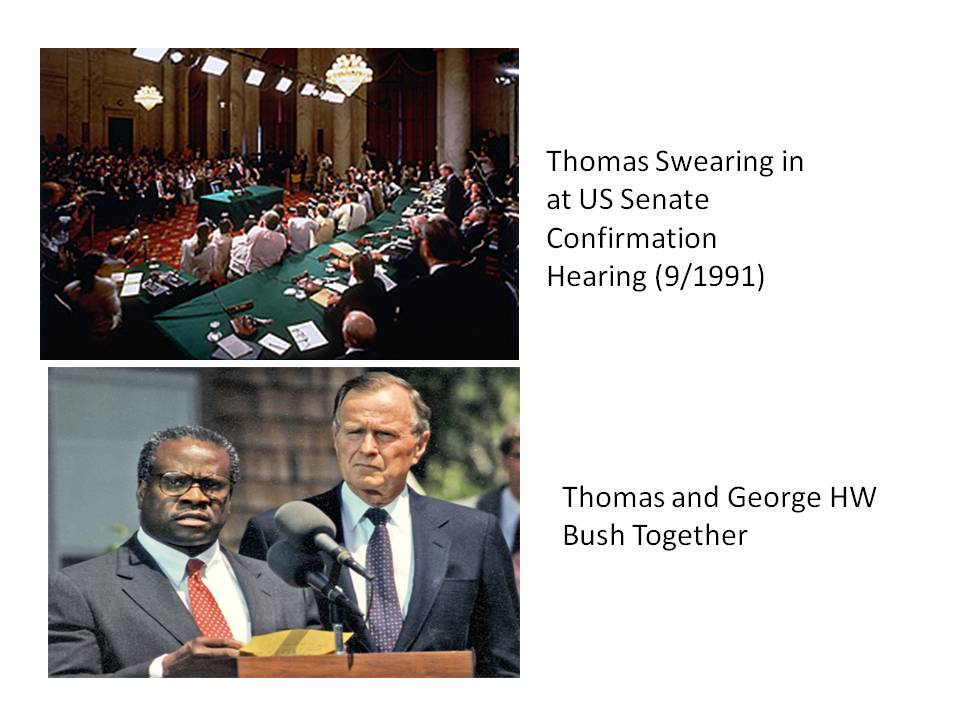 A Blighted and Cynical Process Chose Clarence Thomas