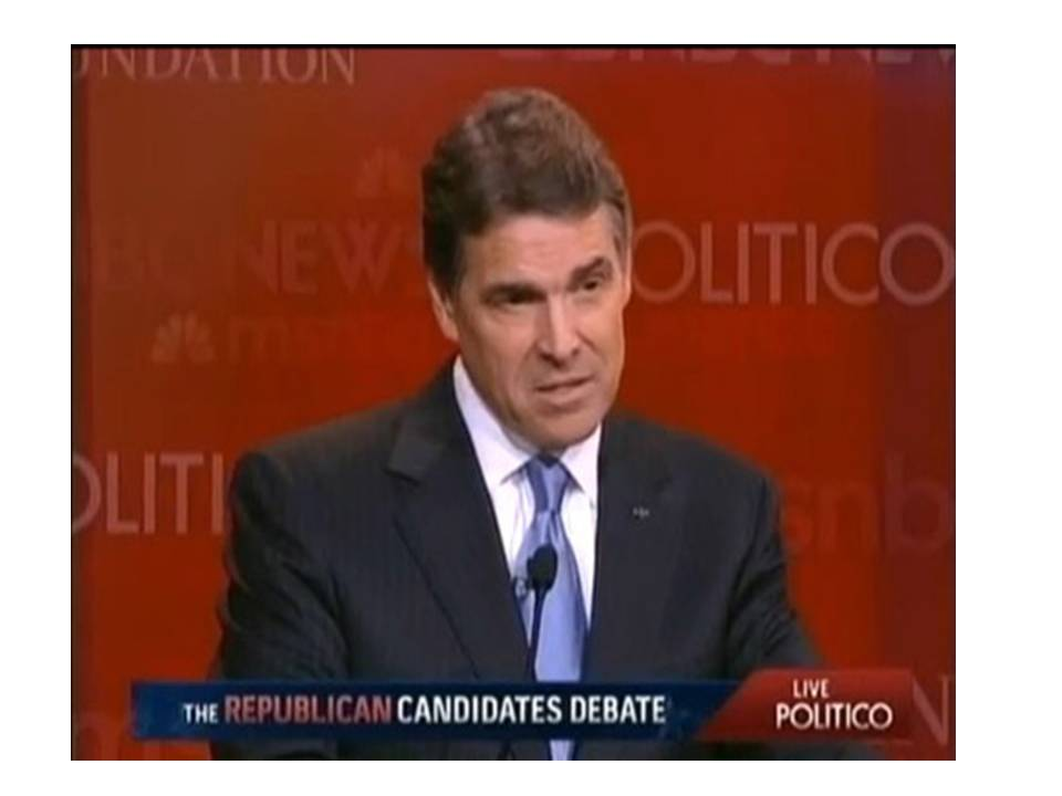 Is Perry Running for Head Tyrant?