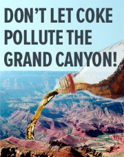 Don't Let Coke Pollute the Grand Canyon