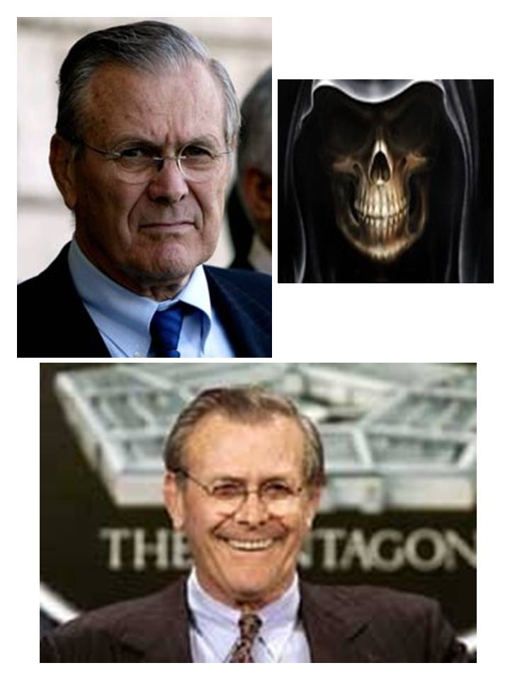 Donald Rumsfeld: The Aspartame Reaper