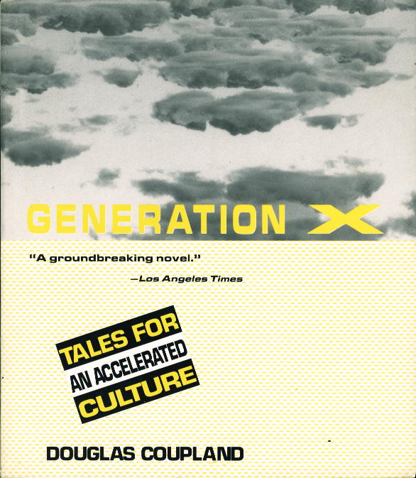 an analysis of the generation x novel by douglas coupland Random transmissions 9: douglas coupland ~ extracts from generation x's glossary of neologisms for an accelerated culture.