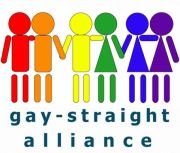 Facebook logo for Gay, Lesbian, Bisexual, Transgender, Straight Alliance