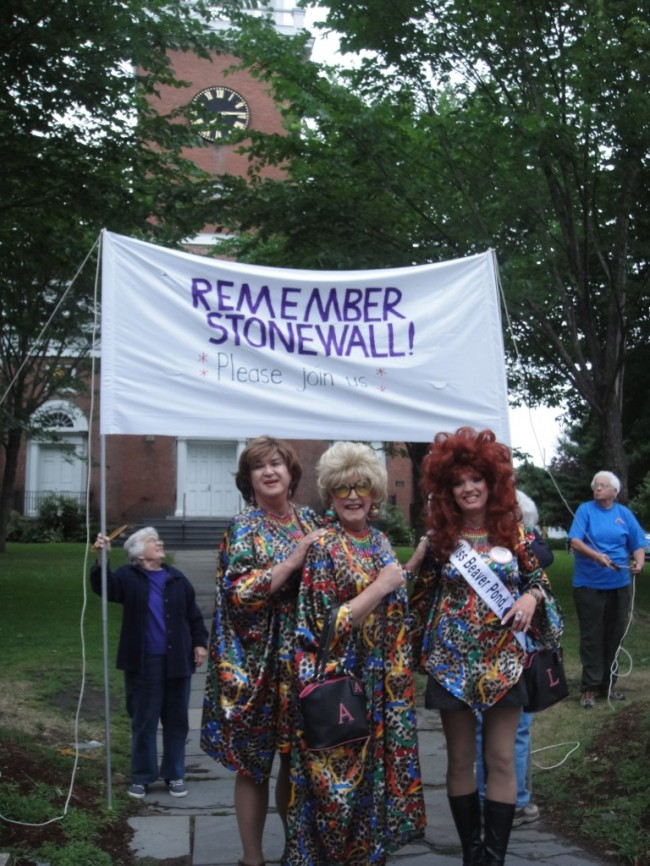 A Speech Given At the 1st Annual Stonewall Vigil In Vermont by: Meg Tamulonis
