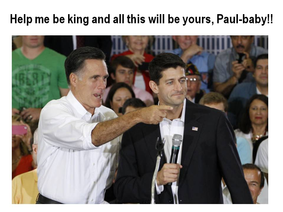 Pretty-boy Paul and Mundane Mitt!!