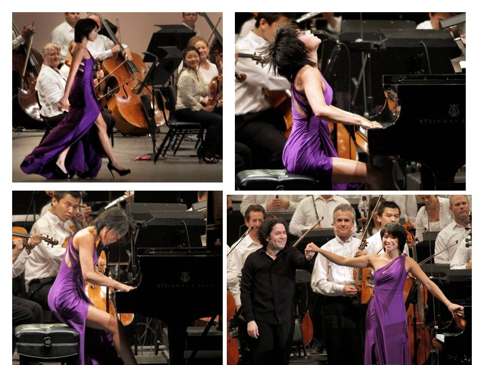 Yuja Wang: a warm night at the Hollywood Bowl