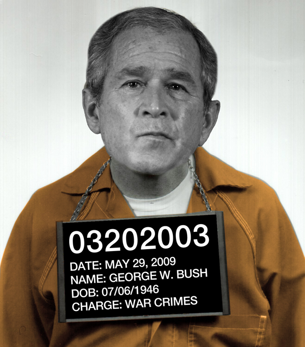 George W. Bush: Bobbled, Busted and Convicted of War Crimes