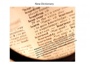 New Dictionary