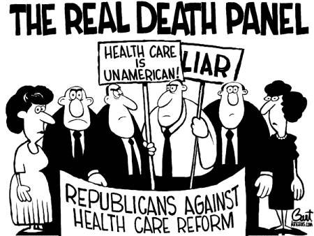 Real Tea Party (GOP) Death Panels?